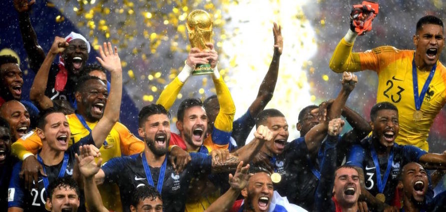 The World Cup Is Over, Bravo Les Bleus!